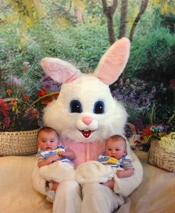 Happy 1st Easter Boys!!!