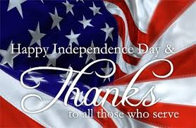 Happy 4th of July!!! Be Safe!
