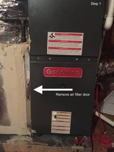 Another way of changing your HVAC filter.
